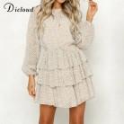 971.4 руб. 46% СКИДКА|DICLOUD платье в горошек женское белое мини платье с открытой спиной с длинным рукавом осеннее летнее платье 2019 женское платье-in Платья from Женская одежда on Aliexpress.com | Alibaba Group