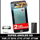 2413.21 руб. 42% СКИДКА|100% тестирование AMOLED ЖК дисплей s для Samsung Galaxy J7 2016 j710 J710FN J710F J710M J710Y J710G ЖК дисплей Дисплей с сенсорным планшета Экран купить на AliExpress