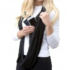 US $6.23 49% OFF|Grandwish Fashion Women Winter Infinity Scarf with Pocket Convertible Scarves with Zipper Pocket,CI006-in Women's Scarves from Apparel Accessories on Aliexpress.com | Alibaba Group