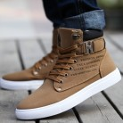 US $8.39 58% OFF|Hot 2019 Spring Autumn Lace Up Men's Canvas Shoes Big Size Man Buckle Casual Ankle Boots Winter Fashion Leather Shoes Mens Flats-in Men's Casual Shoes from Shoes on Aliexpress.com | Alibaba Group