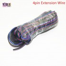 151.11 руб. 23% СКИДКА|5 м/м 10 м/м 20 м/м 50 м 2pin один/3pin 2811RGB/5pin RGBW расширение 4Pin RGB + белый/RGB + черный провода Соединительный кабель для RGB светодиодные ленты-in Соединители from Товары для дома on Aliexpress.com | Alibaba Group