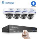 11025.11 руб. 57% СКИДКА|4CH 1080 P PoE камера безопасности CCTV система 4CH 2.0MP NVR комплект аудио запись звук Крытый Купол IP камера P2P видео набор для наблюдения-in Система наблюдения from Безопасность и защита on Aliexpress.com | Alibaba Group