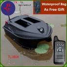 Бесплатная Сумка, двойной корпус, умный пульт дистанционного управления, рыбацкая лодка, TL 380A, 3 кг, нагрузка 3,5 H, жизнь, большая раскладка, в сетку, р/у, приманка, лодка, игрушка-in RC-лодки from Игрушки и хобби on AliExpress