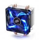 1748.06 руб. 5% СКИДКА|DEEPCOOL GAMMAXX 400 процессор кулер 4 тепловых PWM вентилятор Intel LGA1151 AMD AM4 12 см синий светодиодный Светодиодный радиатор игровой Настольный ПК De Vibration купить на AliExpress