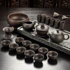 872.41 руб. 18% СКИДКА|Исин фиолетовый песок чайный сервиз черный/красный керамический кунг фу чайный горшок, ручной работы Фиолетовый Глиняный Чайник чайная чашка gaiwan Tureen чайная церемония-in Чайные наборы from Дом и сад on Aliexpress.com | Alibaba Group