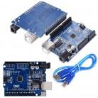 274.46 руб. 10% СКИДКА|UNO R3 MEGA328P CH340 CH340G для Arduino UNO R3 с usb кабелем Бесплатная доставка купить на AliExpress