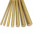 4/6/8/10/12mm DIY barra redonda de bronce varilla Circular alambre tubo Modelmaking-in Piezas para herramientas from Herramientas on AliExpress