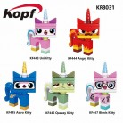US $0.75 |Single Sale Supe Heroes Unikitty Angry Astro Queasy Biznis Kitty Wearing Glasses And Suit Building Blocks Children Toys KF8031-in Blocks from Toys & Hobbies on Aliexpress.com | Alibaba Group