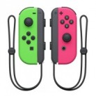 Набор 2 контроллера Joy-Con (неоновые зеленый, розовый)