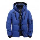 3322.34 руб. 25% СКИДКА|2018 зимняя куртка для мужчин новая мода толстые с капюшоном меховой воротник парка пальто для будущих мам повседневное мягкий купить на AliExpress