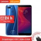€70.17 38% de réduction|Version mondiale Lenovo K5 Play 3GB 32GB Snapdragon 430 Octa Core Smartphone 1.4G 5.7