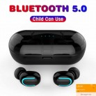 US $23.19 20% OFF|Bluetooth Earphones 5.0 True Wireless Earbuds Stereo Bluetooth Headphone Earphone Headset with Built in HD Mic Charging Case Q13-in Bluetooth Earphones & Headphones from Consumer Electronics on Aliexpress.com | Alibaba Group