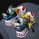 1482.94 руб. 38% СКИДКА|Женские повседневные кроссовки; обувь для тренировок на улице; обувь для девочек, увеличивающая рост; женская обувь на танкетке; Вулканизированная обувь на платформе; большие размеры VV 41Z-in Женская вулканизированная обувь from Туфли on Aliexpress.com | Alibaba Group