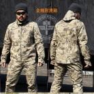 6129.45 руб. 49% СКИДКА|Пейнтбол тактический камуфляж военная форма камуфляж боевой костюм военная Униформа Костюмы Для Охота и рыбалка рубашка брюки девочек купить на AliExpress