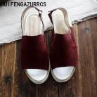 2321.37 руб. 49% СКИДКА HUIFENGAZURRCS 2019 сандалии из натуральной кожи с открытым носком в стиле ретро женские сандалии на плоской подошве повседневные сандалии для студентов 2 цвета-in Женские сандалии from Туфли on Aliexpress.com   Alibaba Group