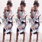 779.72 руб. |Лето 2018 г. Асимметричный повседневное Женская одежда для женщин цветочный короткий рукав детское летнее платье TW-in Платья from Женская одежда on Aliexpress.com | Alibaba Group