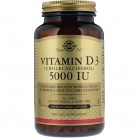 Solgar, Vitamin D3 (Cholecalciferol), 5,000 IU, 240 Vegetable Capsules