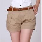 519.37 руб. 28% СКИДКА|Летние женские повседневные шорты 2XL новые женские повседневные драпированные летние шорты с карманами на молнии цвета хаки/белый-in Шорты from Женская одежда on Aliexpress.com | Alibaba Group