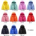 Куртка-пуховик на 90% утином пуху парка для маленьких девочек и мальчиков детская куртка зимняя детская куртка с капюшоном верхняя одежда дл...