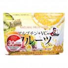 Japan Gals Курс натуральных масок для лица с фруктовыми экстрактами, 30 шт — купить в интернет-магазине OZON с быстрой доставкой