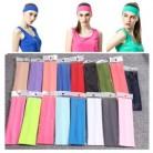 Спортивные повязки для волос, Спортивная Женская теннисная ракетка для бадминтона, тянущиеся повязки на голову для йоги