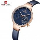 1352.93 руб. 91% СКИДКА|NAVIFORCE женские модные синие женские кварцевые часы кожаный высококачественный ремешок для часов повседневные водонепроницаемые наручные часы подарок для жены 2019-in Женские часы from Ручные часы on Aliexpress.com | Alibaba Group