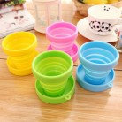 US $1.46 30% OFF|1pc Portable Silicone Folding Water Cup Candy Color Silicone Traveling Foldable Cups For Travel Outdoor Camping Drinkware-in Teacup & Saucer Sets from Home & Garden on Aliexpress.com | Alibaba Group