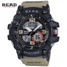 937.7 руб. 40% СКИДКА Роскошные Брендовые мужские спортивные часы аналоговые кварцевые цифровые часы для мужчин водонепроницаемые с двумя часовыми поясами военные Relogio Masculino-in Часы с двойным дисплеем from Ручные часы on Aliexpress.com   Alibaba Group