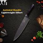 582.87 руб. 72% СКИДКА|XYj кухонный нож цветной деревянной ручкой шеф повар нарезки 2 * Santoku утилита фрукты Дамаск вен нержавеющая сталь кухонный нож посуда купить на AliExpress