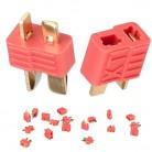 5 пар XT plug T plug коннектор Дина для ESC батарея мужской и женский скидка 20% купить на AliExpress