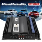 US $68.29 50% OFF|KROAK 3800W RMS 4 Channel 12V Amplifier Audio Bluetooth Car Audio Stereo Amplifier Amp Speaker Metal Car Amplifier Car Subwoofer-in Stereo Amplifiers from Automobiles & Motorcycles on Aliexpress.com | Alibaba Group