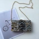 1677.77 руб. 31% СКИДКА|Блестящий акрил с леопардовым принтом, золотой вечерний клатч, женская сумка для свадебной вечеринки, модные сумки с цепочкой, сумка через плечо, сумка мессенджер-in Вечерние сумки from Багаж и сумки on Aliexpress.com | Alibaba Group