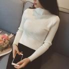 522.66 руб. 40% СКИДКА|Новый женский свитер с высоким воротом женские свитера модное Джерси женские зимние 2018 осенние женские свитера джемпер дамские свитера-in Пуловеры from Женская одежда on Aliexpress.com | Alibaba Group