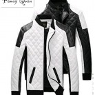 US $27.83 |men Leather Jackets coats autumn black white lattice men Leather Jaquetas Jackets coat  Winter Leather Suede basic Jacket-in Jackets from Men's Clothing on Aliexpress.com | Alibaba Group