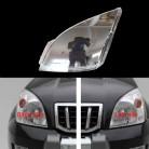 1032.99руб. 5% СКИДКА|Для Toyota Prado 400 2003 2009 Передние фары прозрачные абажуры лампы оболочки маски фары оболочки крышка объектива-in Наборы для тела from Автомобили и мотоциклы on AliExpress