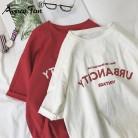 240.25 руб. 44% СКИДКА|Harajuku/женские футболки Новинка 2019 года, летняя футболка свободного кроя с забавным буквенным принтом в стиле хип хоп для девочек, Студенческая Уличная Повседневная Женская футболка тенниска-in Футболки from Женская одежда on Aliexpress.com | Alibaba Group