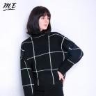 1272.13 руб. 51% СКИДКА|Мне Для женщин свитер пуловеры водолазка с длинными рукавами 2019 зима Винтаж свободные свитера Повседневное эластичные свободные свитера-in Пуловеры from Женская одежда on Aliexpress.com | Alibaba Group