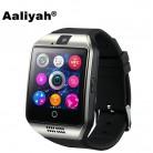 859.92 руб. 29% СКИДКА|Алия Q18 Смарт часы с Сенсорный экран Камера sim карта TF Bluetooth Smartwatch для Android телефон умные часы PK DZ09-in Смарт-часы from Бытовая электроника on Aliexpress.com | Alibaba Group