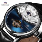 US $25.97 50% OFF|FORSINING Fashion Sport Classic Mechanical Watches Automatic Tourbillon Men's Genuine Leather Watch Relogio Masculino-in Mechanical Watches from Watches on AliExpress