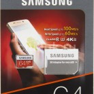 Купить Карта памяти microSDXC UHS-I U3 SAMSUNG EVO PLUS 2 64 ГБ в интернет-магазине СИТИЛИНК, цена на Карта памяти microSDXC UHS-I U3 SAMSUNG EVO PLUS 2 64 ГБ (459735) - Москва