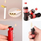 US $1.78 10% OFF|Creative Refillable Butane Gas Cigarette Lighters Coke Bottle/Cigarette/Extinguisher Shape Novelty Lighter Smoking Accessories-in Cigarette Accessories from Home & Garden on Aliexpress.com | Alibaba Group