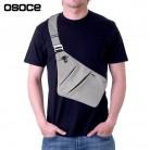 1349.05 руб. 29% СКИДКА|OSOCE Летние черные тонкие сумки на плечо для мужчин непромокаемые нейлоновые сумки через плечо мужская сумка мессенджер купить на AliExpress