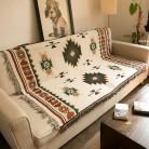 1929.87руб. 25% СКИДКА Многофункциональное вязаное одеяло для дивана, одеяло с геометрическим узором, ковер для гостиной, спальни, мягкий ковер, покрывало, скатерть, гобелен-in Ковер from Дом и животные on AliExpress - 11.11_Double 11_Singles' Day