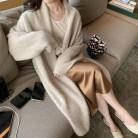 1624.47руб. 25% СКИДКА|Элегантный кашемировый свитер, толстый длинный теплый кардиган, Женское зимнее пальто, вязаные модные свитера, кардиган-in Кардиганы from Женская одежда on AliExpress - 11.11_Double 11_Singles' Day