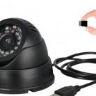 924.96 руб. |Купол безопасности ИК видеокамера мини USB видео системы наблюдений карта памяти SD хранения ночного видения авто вождения рекордер DVR-in Камеры видеонаблюдения from Безопасность и защита on Aliexpress.com | Alibaba Group