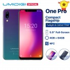 US $139.99 25% OFF|UMIDIGI One Pro Global Band 5.9