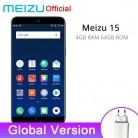 14259.56 руб. |Глобальная версия Meizu 15 4 Гб 64 Гб Смартфон Snapdragon 660 Octa Core 5,46