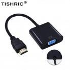 123.6 руб. 46% СКИДКА|TISHRIC для HDMI к VGA кабель мужчин и женщин адаптер видео конвертер 1080 P цифро аналоговый HDMI2VGA для ноутбука/ПК-in Кабели HDMI from Бытовая электроника on Aliexpress.com | Alibaba Group