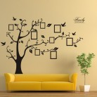 US $3.87 15% OFF|Family Photo Frame Tree Wall Stickers DIY Wall Quote Art Stickers PVC Decals DIY wallpaper Home Living Room Decor Vinyl sticker-in Wall Stickers from Home & Garden on Aliexpress.com | Alibaba Group