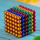 5 мм 216 шт. Кубик Рубика нео куб кубик рубик магнитный куб магнитные шарики куб нео куб магнитный       купить на AliExpress